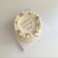 Picnic Birthday, Cute Birthday Cakes, Pretty Cakes, Beautiful Cakes, Amazing Cakes, Korean Cake, Milk Cake, Cute Desserts, Just Cakes