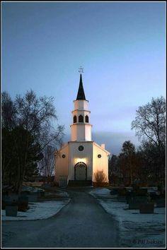 Alta kirke, Finnmark. Foto: Pål Isaksen.