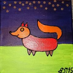 Hehe jeg sad lige og skulle rode op i mine kasser med malerier der fandt jeg disse dyre billeder så var tænkt til et børneværelse 😉 jeg laver den tilbage i 15. Hvad syntes du om dem?  #akryl #akrylmaling #akrylmalingpålerret #maleri #malerier #mitkunst #minkreativeverden #kunst #kunsttilbørn #kunsttilbørneværelset #kreativ #kreativitet #painting #dyr #dyremotiver #dyremotiv #skønnedyr #maleriertilsalg