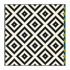 We're rounding up the very best in IKEA rugs. Keep reading for 8 IKEA rugs that look anything but budget. Diy Bordados, Design Ikea, Ikea Rug, Medium Rugs, Ikea Living Room, Living Rooms, Barn Living, Geometric Rug, Tribal Rug