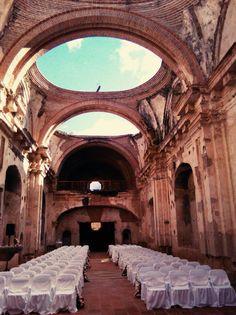 Mira este lugar  Un sueño!!  Ruinas Santa Clara  Wala Events!!!