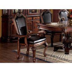 Acme Cheateau De Ville Arm Chair by Acme Furniture