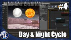 Creating A day And Night Cycle - #4 Unreal Engine 4 Blueprint Creations