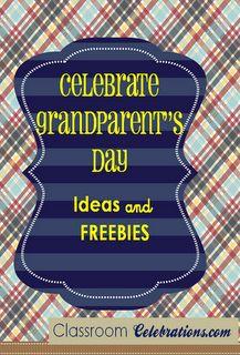 Classroom Celebrations: Celebrate Grandparent's Day