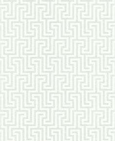 Juan - White by Steve Leung for Graham & Brown. Wallpaper available in 6 colors. Like the gray/blue too.