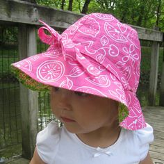 4 in 1 Sun Hat: Sun Hat Pattern PDF Sewing Pattern