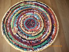 tooth brush rag rug