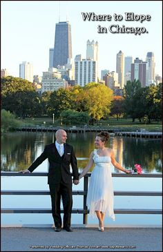 Eloping or Elopement Ceremony in Chicago