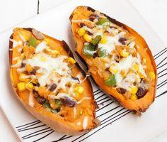 Plnené mexické chilli batáty Tacos, Food And Drink, Pizza, Mexican, Ethnic Recipes, Mexicans