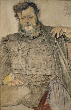 The Athenaeum - Portrait of Jan Stanislawski (Stanislaw Wyspianski - ) Polish Words, The Beautiful And Damned, Pastel Drawing, Vanitas, Art And Architecture, Illustrators, Art Drawings, Fine Art, Image