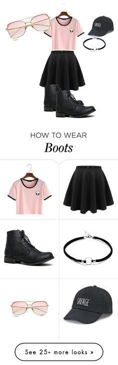 """They are pink not grey"" by feralkind on Polyvore featuring SO"