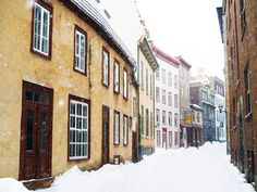 Photographic evidence as to why one must witness Quebec City in winter at least once in one's lifetime + helpful tips for planning a memorable trip. Montreal Quebec, Quebec City, Quebec Winter, Canadian Travel, Canada, Winter Photography, Travelogue, Vancouver Island, Places Ive Been
