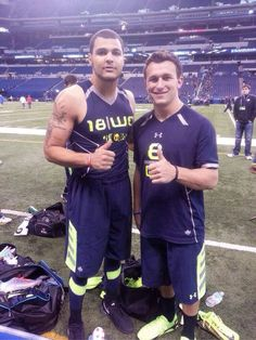 NFL 1st Round Picks:  Johnny & Mike