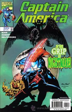 CAPTAIN AMERICA #11, MARVEL, 1.998, USA
