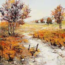 """Résultat de recherche d'images pour """"peindre paysages au couteau"""" Landscape Art, Landscape Paintings, Rug Hooking Patterns, Impressionism, Painting & Drawing, Natural Beauty, Scenery, Canvas Art, Pastel"""