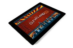 A Day in Cleveland iPad app by Jerney Studios , via Behance