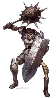 Resultado de imagem para zumbis undead skeleton warriors art concept Fantasy Races, Fantasy Armor, Dark Fantasy Art, Creature Concept Art, Creature Design, Fantasy Creatures, Mythical Creatures, Character Inspiration, Character Art