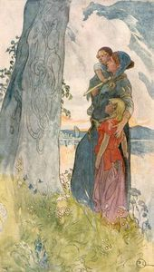 Viking Femme - (Carl Larsson)