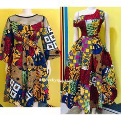 Elegant Ankara Dress Styles for Beautiful Ladies African Fashion Ankara, African Inspired Fashion, Latest African Fashion Dresses, African Dresses For Women, African Print Fashion, African Attire, Trendy Ankara Styles, Ankara Dress Styles, Ankara Dress Designs