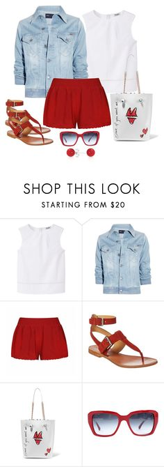 """""""Untitled #1142"""" by gallant81 ❤ liked on Polyvore featuring MANGO, Notify, Ally Fashion, Sophia Webster, Chanel and Bling Jewelry"""