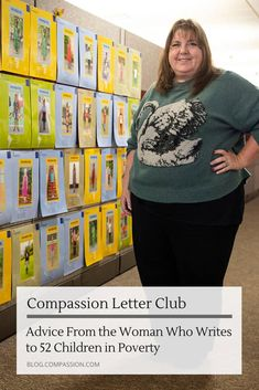 Advice From the Woman Who Writes to 52 Children in Poverty | Compassion International Blog