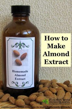 How to Make Homemade Extracts Vanilla, Lemon and Almond is part of Homemade vanilla extract - How to Make Homemade Extracts Vanilla, Lemon and Almond Save money, create custom extracts Includes printable extract labels Homemade Spices, Homemade Seasonings, How To Make Homemade, Homemade Liquor, Homemade Food, Homemade Vanilla Extract, Homemade Liqueur Recipes, Lemon Extract, Do It Yourself Food