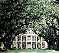 old southern plantation
