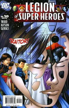 Legion of Super-Heroes #10.