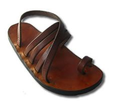 Victor Powell makes his sandals to order in Provincetown in a few days, so reasonable and beautiful, an ancient art!