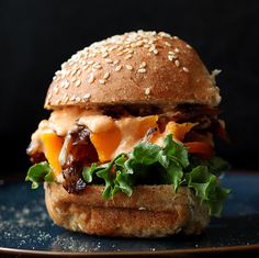 1000+ images about With Buns or Bread on Pinterest | Figs, Burgers and ...