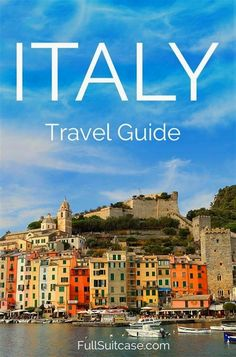 Italy travel guide. From the main highlights to less known places and trip itineraries - this guide offers travel inspiration and practical trip advice  #ItalyTravel