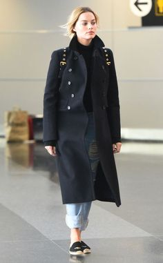 Margot Robbie from The Big Picture: Today's Hot Pics  The Suicide Squad star comes in for a landing at New York's JFK International Airport.