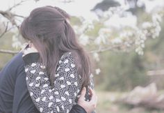 When I cry, if you hug me, I even cry bigger :-*