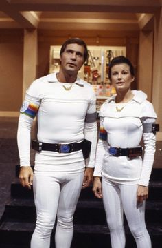 Still of Gil Gerard and Juanin Clay in Buck Rogers in the 25th Century (1979)