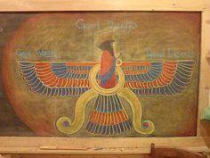 Waldorf ~ 5th grade ~ Ancient ~ Persia ~ Zarathustra ~ chalkboard drawing