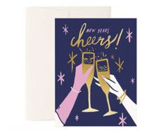 Hand-Painted Greeting Cards and Paper Goods by IdlewildCo on Etsy