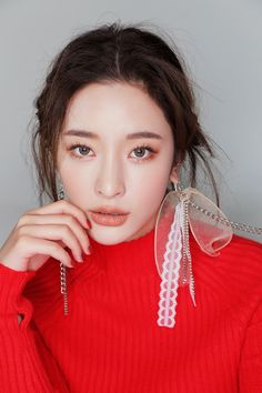 Matte Lip Color, Matte Lips, Lip Colors, 3ce Makeup, Byun Jungha, Sweet Makeup, Natural Makeup Looks, Korean Makeup, Makeup Designs