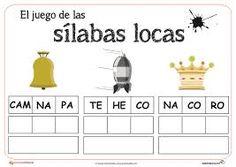Resultado de imagen para silabas para imprimir y recortar pdf Abc Games, New Start, Bingo, Phonics, Teacher, Education, Reading, School, Kids
