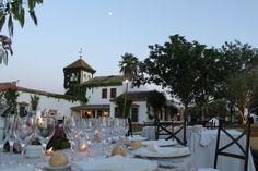 Una cena a la luz de la luna...