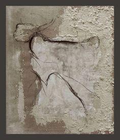 Expiration, tecnica mista su tela juta, 120x140