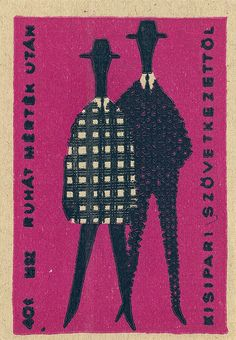 would be fun to blow up matchbook labels into posters, considering how much i adore them!