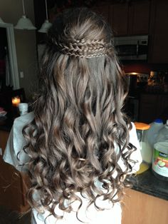 Peachy Half Up Half Down Half Up And Braids On Pinterest Short Hairstyles For Black Women Fulllsitofus