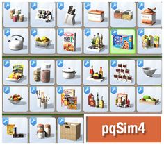 """Sims 4 CC's - The Best: Pantry """"Madison"""" by - franca l. - Sims 4 CC's - The Best: Pantry """"Madison"""" by Sims 4 CC's - The Best: Pantry """"Madison"""" by - Sims 4 Pets, The Sims 4 Pc, Sims 4 Mm, Los Sims 4 Mods, Sims 4 Game Mods, Madison Sims, Die Sims 4 Packs, The Sims 4 Bebes, Sims 4 Kitchen"""
