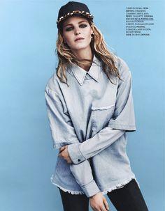 Erin Heatherton By Bjarne Jonasson For Elle France