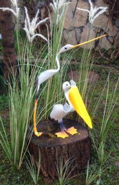 Pvc pipe birds