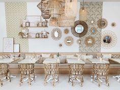 Filipino Interior Design, Cafe Interior Design, Eclectic Restaurant, Restaurant Design, Diy Outdoor Furniture, Unique Furniture, Ibiza, Amsterdam Restaurant, May House