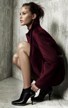 Catherine McNeil by Mario Testino for Hugo Boss ad campaign