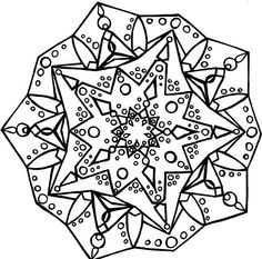 Mandalas - Imagens para Colorir!
