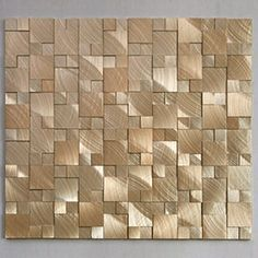 SOLI Aluminum Mosaic Tiles