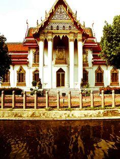 Thai Temple in Bangkok, Thailand